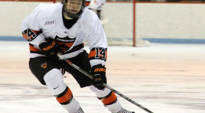 Andrew Ammon's Overtime Goal Leads Princeton To ECAC Tournament Win Over Clarkson