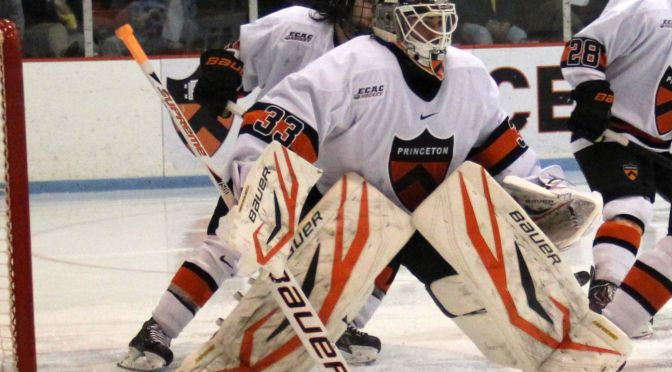 Princeton's Colton Phinney Earns First Career Win