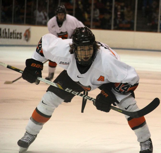 Princeton's Andrew Ammon gets ready for a faceoff