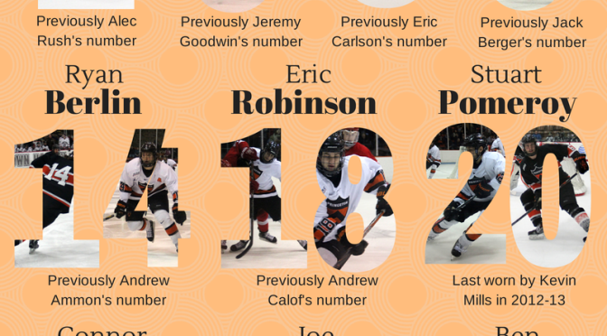 Princeton Hockey 2014-15 New Numbers (Infographic)