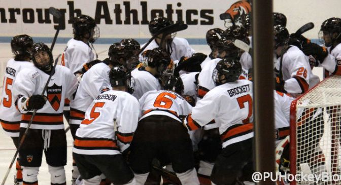 Princeton Hockey Announces 2014-15 Award Winners