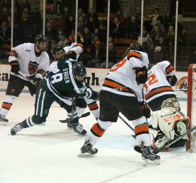 Late Dartmouth Goal Sends Princeton To Game 1 Loss