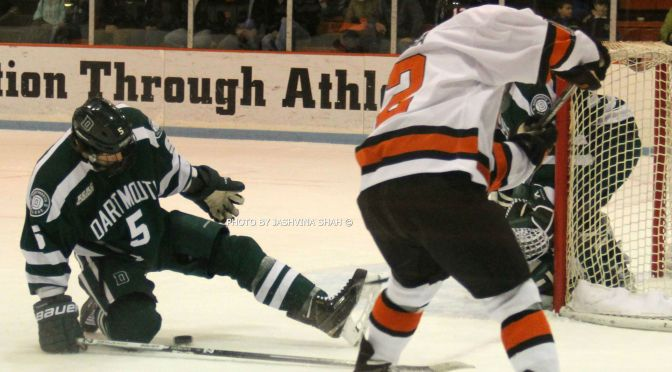 Princeton Falls To Dartmouth