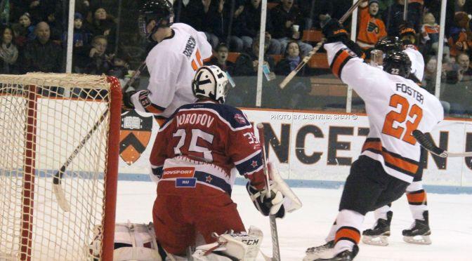 Princeton vs. Russian Red Stars 1.3.15 Photos