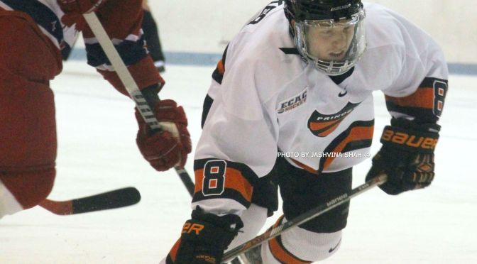 Princeton's Max Becker Crafts California Hockey Into A College Commitment