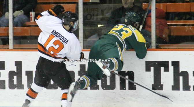 Princeton Earns Comeback Win Over Clarkson
