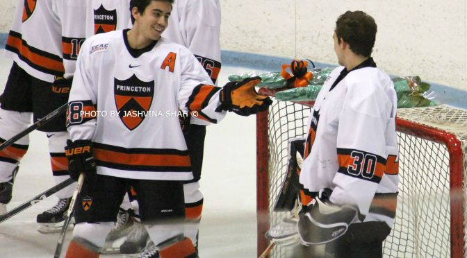 Aaron Ave smiles during the senior ceremony