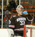 Tim Ernst takes a sip during stoppage