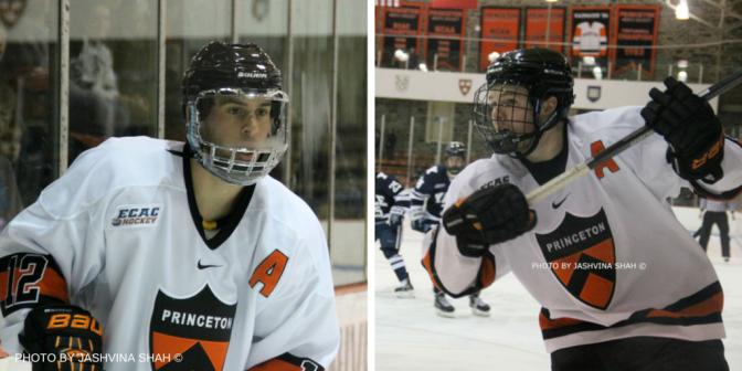 Princeton Names Mike Ambrosia and Kyle Rankin Co-Captains for 2015-16 Season