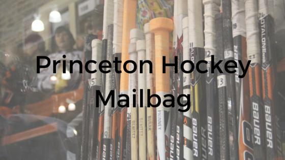 Princeton Hockey Mailbag